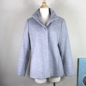 Land's End lightweight collar fleece jacket